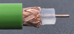 0.6/3.7 PVC Koaxialkabel von Draka / 75R