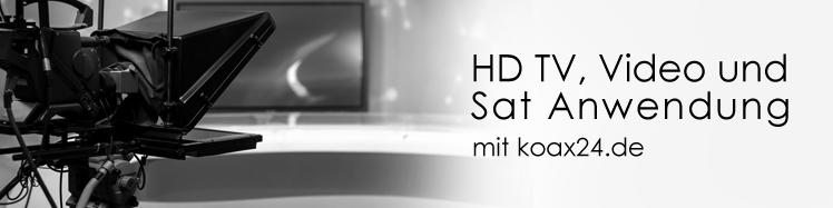 koaxialkabel digital, TV, SAT, HDTV