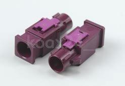FAKRA Kunststoff-Gehäuse Stecker
